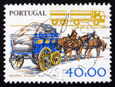 Postage stamp Portugal 1978 Transportation — Stock Photo