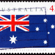 Postage stamp Australia 1991 Australian Flag, Australian Day — Stock Photo