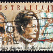 Stock Photo: Postage stamp Australi1990 Dr. Constance Stone