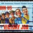 Stock Photo: Postage stamp Australi1991 Women's Wartime Services
