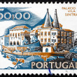 Postage stamp Portugal 1972 City Hall, Sintra - Stock Photo