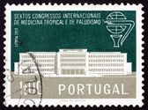 Postage stamp Portugal 1958 Institute for Tropical Medicine — Stock Photo