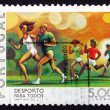 Postage stamp Portugal 1978 Running, Sport for all — Stock Photo #22654329
