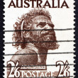 Stock Photo: Postage stamp Australi1952 Aborigine