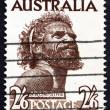 Постер, плакат: Postage stamp Australia 1952 Aborigine