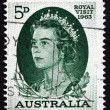 Postage stamp Australia 1963 Elizabeth II — Stock Photo