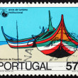 Postage stamp Portugal 1987 Boats, Espinho - Photo