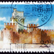 Postage stamp Portugal 1986 Beja Castle, Portugal - Stock Photo