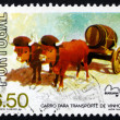 Postage stamp Portugal 1979 Wine Sledge — Stock Photo
