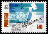 Postage stamp Portugal 1978 Carrier Pigeon — Stock Photo