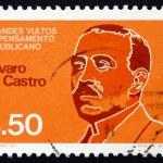 Postage stamp Portugal 1980 Alvaro de Castro, Republican Leader — Stock Photo #23065146