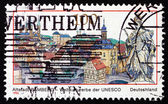 Postage stamp Germany 1996 Bamberg, Town in Bavaria — Stock Photo