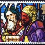 Постер, плакат: Postage stamp GB 1992 Kings offering frankincense and myrrh