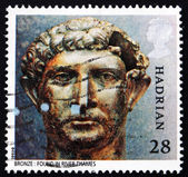 Postage stamp GB 1993 Bronze bust of Hadrian — Stock Photo