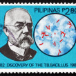 Stock Photo: Postage stamp Philippines 1982 Robert Koch