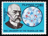 Timbre-poste philippines 1982 robert koch — Photo