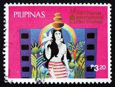 Postage stamp Philippines 1983 Native girl — Foto de Stock