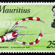 Postage stamp Mauritius 1969 Spiny Shrimp, Crustacean — Stock Photo #23321730