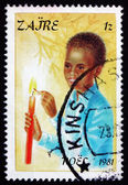Postage stamp Zaire 1981 Boyl, Christmas — Stock Photo