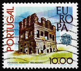 Postage stamp Portugal 1978 Roman Tower, Belmonte — Stock Photo