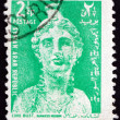 Postage stamp Syria 1966 Bust of Core — Stock Photo