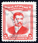 Postage stamp Philippines 1983 Marcelo Hilario del Pilar — Stock Photo