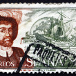 Stock Photo: Postage stamp Spain 1976 JuSebastiElcano, Navigator