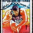 ������, ������: Postage stamp Chad 1969 Randy Matson Shot Put