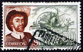 Postage stamp Spain 1976 Juan Sebastian Elcano, Navigator — Stock Photo