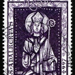 Stock Photo: Postage stamp Germany 1997 St. Adalbert, RomCatholic Saint