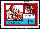 Postage stamp Tanzania 1982 Robert Koch — Stock Photo