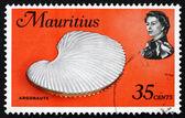 Postage stamp Mauritius 1969 Argonaut Shell, Argonauta, Octopus — Stock Photo
