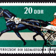 Postage stamp GDR 1974 Trotter, Race Horse — Stock Photo #23819463