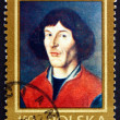 Stock Photo: Postage stamp Poland 1973 Nicolaus Copernicus