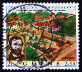 Postage stamp Portuguese Guinea 1970 View of Bolama — Stock Photo