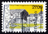 Postage stamp Portugal 1988 Beira Interior, Traditional Architec — Foto de Stock