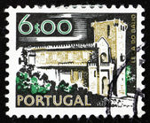 Postage stamp Portugal 1974 Leca do Balio Monastery — Stock Photo