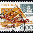 Postage stamp Portugal 1978 Carpentry, Old and New — Stock Photo