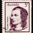 Postage stamp Australia 1968 Caroline Chisholm, Social Worker, R — Stock Photo