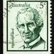 postzegel Australië 1968 edgeworth david, geoloog — Stockfoto #24171261
