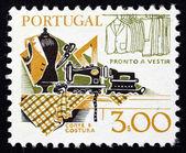 Ropa de portugal 1978 estampilla haciendo, viejos y nuevos — Foto de Stock