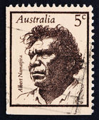 Postage stamp Australia 1968 Albert Namatjira, Aborigine, Artist — Stock Photo