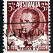 Postage stamp Australia 1953 William Paterson, Lieutenant Govern - Stockfoto
