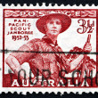 Postage stamp Australia 1948 Scout in Uniform - Foto Stock