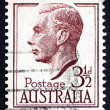 Postage stamp Australia 1951 George VI, King of the United Kingd - Foto Stock