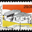 Postage stamp Portugal 1989 Transmontanas, Traditional Architect - Foto Stock
