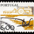 Postage stamp Portugal 1978 Plows, Old and New — Stock Photo