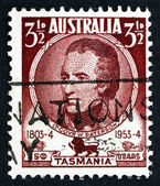 Postage stamp Australia 1953 William Paterson, Lieutenant Govern — Stock Photo