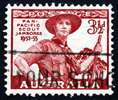 Postage stamp Australia 1948 Scout in Uniform — Stock Photo