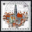 Postage stamp Germany 1998 City of Nordlingen — Stock Photo